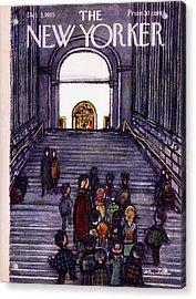 New Yorker December 3 1955 Acrylic Print