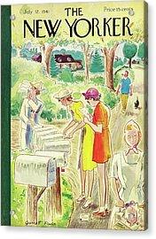 New Yorker July 12 1941 Acrylic Print