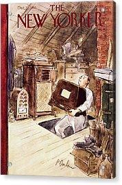 New Yorker October 22 1955 Acrylic Print