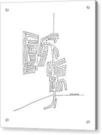 New Yorker September 18th, 1965 Acrylic Print