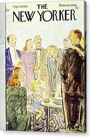New Yorker September 19 1953 Acrylic Print