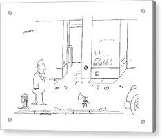 New Yorker September 25th 1978 Acrylic Print