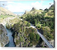 New Zealand Scene Acrylic Print