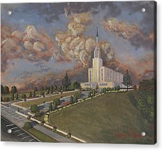 New Zealand Temple Acrylic Print by Jeff Brimley
