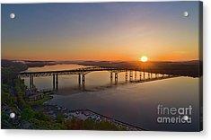 Newburgh-beacon Bridge May Sunrise Acrylic Print
