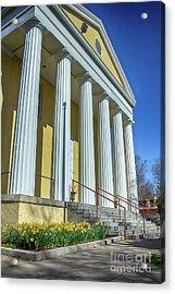 Newburgh Courthouse On Grand Street 2 Acrylic Print