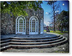 Newburgh Downing Park Shelter House Side View Acrylic Print