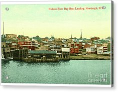 Newburgh Steamers Ferrys And River - 15 Acrylic Print