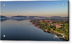 Newburgh Waterfront At Sunrise Acrylic Print