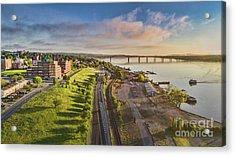 Newburgh Waterfront Looking North Acrylic Print