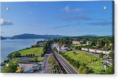 Newburgh Waterfront Looking South 4 Acrylic Print