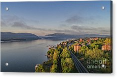 Newburgh Waterfront Looking South Acrylic Print