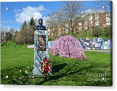 Newburgh's Dr. Martin Luther King Memorial Acrylic Print