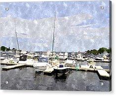 Newburyport Harbor Nhwc Acrylic Print