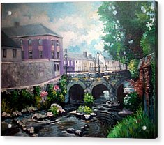 Newcastle West Co Limerick Acrylic Print