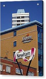 Newham Express Acrylic Print by Jez C Self