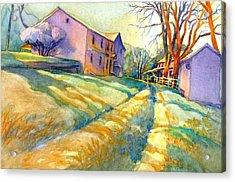 Newlin Grist Mill, No 3 Acrylic Print