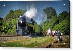 Newly Restored Steam Locomotive 2 Acrylic Print
