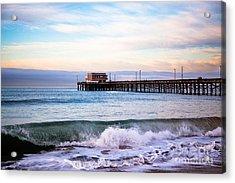 Newport Beach Ca Pier At Sunrise Acrylic Print