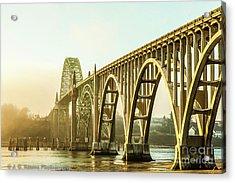Newport Bridge Acrylic Print