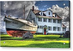 Newport Coast Guard Station Acrylic Print