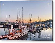 Newport Harbor At Dusk Acrylic Print