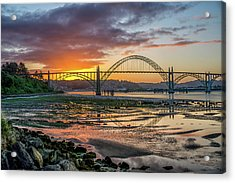 Newport Or Greeting Acrylic Print