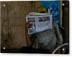 News Break Acrylic Print