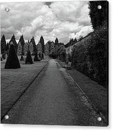 Newstead Abbey Country Garden Gravel Path Acrylic Print