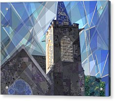 Newtown Steeple Acrylic Print