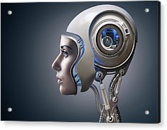 Next Generation Cyborg Acrylic Print