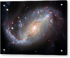 Ngc 1672 Acrylic Print by Space Art Pictures