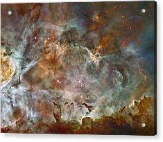 Ngc 3372 Taken By Hubble Space Telescope Acrylic Print