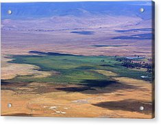 Ngorongoro Crater Tanzania Acrylic Print