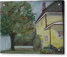 Nh Home  Acrylic Print by Pamela Wilson