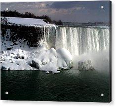 Niagara Falls 6 Acrylic Print by Anthony Jones