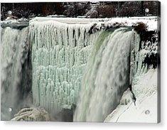 Niagara Falls 7 Acrylic Print by Anthony Jones