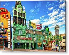 Niagara Falls - Clifton Street Horror Acrylic Print