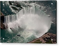 Acrylic Print featuring the photograph Niagara Falls by JT Lewis