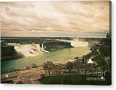Acrylic Print featuring the photograph Niagara Falls by Mary Machare