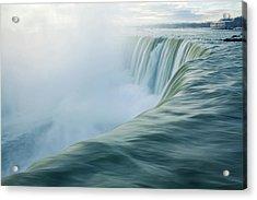 Niagara Falls Acrylic Print by Photography by Yu Shu