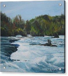 Niagra Rapids Acrylic Print