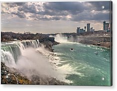 Niagra Waterfalls Acrylic Print