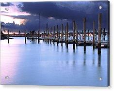 Niantic Docks Acrylic Print