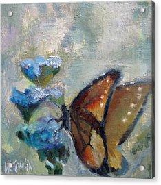 Nibbling Nectar Acrylic Print