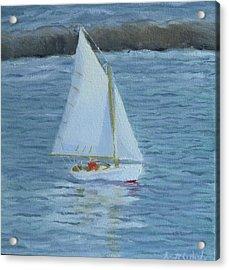 Nice Day For A Sail Acrylic Print