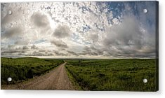 Acrylic Print featuring the photograph Nice Morning For A Drive by Scott Bean