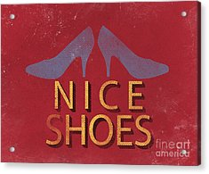 Nice Shoes  Acrylic Print by Edward Fielding