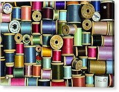 Nice Threads Acrylic Print