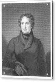Nicholas Biddle (1786-1844) Acrylic Print by Granger